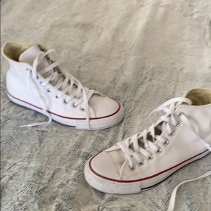 Brand new converse leather sneakers